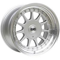 ESM 003R  Wheel Rim 16x8 4x100/5x100 ET20 57.1 Silver/ Machined Lip