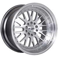 ESM 007 Wheel Rim 18x11 5x114/120 ET15 74.1 Silver Machined Face/ Machined Lip
