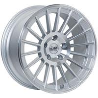 ESM 008 Wheel Rim 18x8.5 5x100 ET35 57.1 Silver Machined Face/ Machined Lip