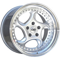 ESM 011R Wheel Rim 18x11 5x114.3 ET15 73.1 Silver/ Machined Lip