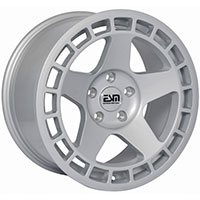 ESM 016  Wheel Rim 17x8.5 4x100 ET30 73.1 Full Silver
