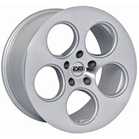 ESM 020 Wheel Rim 18x9 5x100 ET30 57.1 Silver/ Machined Lip