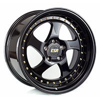 ESR SR02 Wheel Rim 17x8.5 5X100 ET30 73.1 GLOSS BLACK