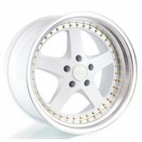 ESR SR04 Wheel Rim 18x10.5 5X114.3 ET22 73.1 WHITE/MACHINE LIP