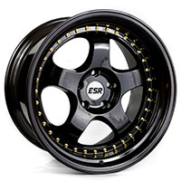 ESR SR06 Wheel Rim 17x8.5 5X114.3 ET30 73.1 GLOSS BLACK