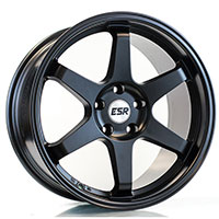 ESR SR07 Wheel Rim 17x8.5 5X114.3 ET30 73.1 MATTE BLACK