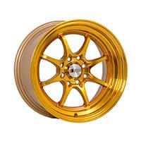 F1R F03 Wheel Rim 15x8 4x100 ET25  Machined Gold