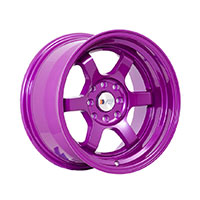 F1R F05 Wheel Rim 15x8 4x100 ET0  Purple