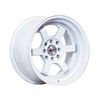 F1R F05 Wheel Rim 15x8 4x100 ET0  White