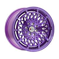 F1R F06 Wheel Rim 15x8 4x100 ET25  Machined Purple