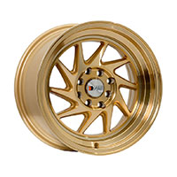 F1R F07 Wheel Rim 15x8 4x100 ET25  Machined Gold