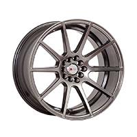 F1R F17 Wheel Rim 17x8 5x100 ET35  Hyper Black