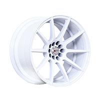 F1R F17 Wheel Rim 17x8 5x100 ET35  White