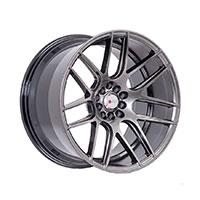 F1R F18 Wheel Rim 17x8 5x100 ET35  Hyper Black