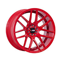 F1R F18 Wheel Rim 17x8 5x100 ET35  Red