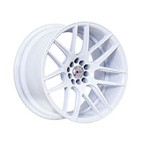 F1R F18 Wheel Rim 17x8 5x100 ET35  White