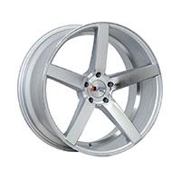 F1R F25 Wheel Rim 20x8.5 5x114.3 ET15  Machine Silver