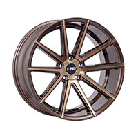 F1R F27 Wheel Rim 18x8.5 5x100 ET40  Machined Bronze *New Cap*