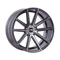 F1R F27 Wheel Rim 18x8.5 5x100 ET40  Machined Gunmetal