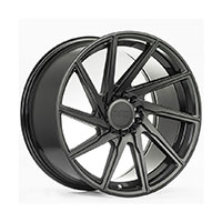 F1R F29 Wheel Rim 17x8.5 5x100 ET38  Double Black