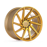 F1R F29 Wheel Rim 17x8.5 5x100 ET38  Machined Gold