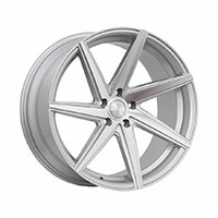 F1R F35 Wheel Rim 20x10 5x112 ET38  Machine Silver