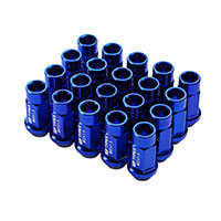 GodSpeed Project Godspeed Type 3 50mm Lug Nuts 20 pcs. Set M12 X 1.5 Blue