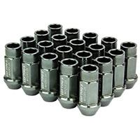 GodSpeed Project Godspeed Type 3 50mm Lug Nuts 20 pcs. Set M12 X 1.25 Gun Metal
