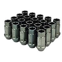 GodSpeed Project Godspeed Type 3 50mm Lug Nuts 20 pcs. Set M12 X 1.5 Gun Metal