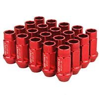 GodSpeed Project Godspeed Type 3 50mm Lug Nuts 20 pcs. Set M12 X 1.25 Red