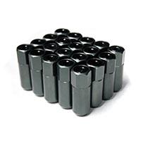GodSpeed Project Godspeed Type 5 55mm Lug Nuts 20 pcs. Set M12 X 1.25 Gun Metal