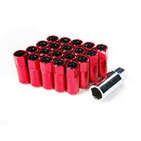 GodSpeed Project Godspeed Type 5 55mm Lug Nuts 20 pcs. Set M12 X 1.5 Red
