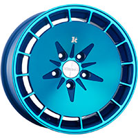 Klutch KM16 Wheel Rim 15x8.5 4x100 ET17 73.1 Fusion Blue
