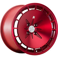 Klutch KM16 Wheel Rim 15x8.5 4x100 ET17 73.1 Fusion Red