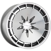 Klutch KM16 Wheel Rim 15x8.5 4x100 ET17 73.1 Gunmetal