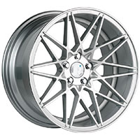 Klutch KM20 Wheel Rim 19x8.5 5x100-114.3 ET10 73.1 Silver