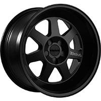 Klutch ML7 Wheel Rim 17x8 4x100 ET15 73.1 Matte Black