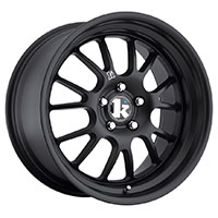 Klutch SL14 Wheel Rim 18x8.5 5x100 - 114.3 ET15-42 73.1 Flat Black