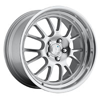Klutch SL14 Wheel Rim 18x8.5 5x100 - 114.3 ET15-42 73.1 Silver Machined