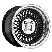 Klutch SL1 Wheel Rim 15x8.5 4x100 ET17 73.1 Black