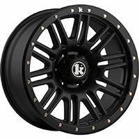 Klutch Offroad KT01 Wheel Rim 17x9 5x114.3/120 ET-12 73.1 Flat Black