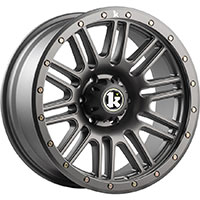 Klutch Offroad KT01 Wheel Rim 17x9 5x114.3/120 ET-12 73.1 Gunmetal