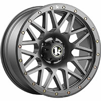 Klutch Offroad KT02 Wheel Rim 17x9 5x127 ET-12 71.5 Gunmetal