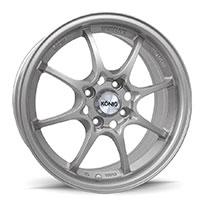 KONIG Helium Wheel Rim 15x6.5 4x100 ET40 73.1 Silver