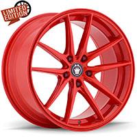 KONIG Oversteer Wheel Rim 17x8 5x114.3 ET45 73.1 Red