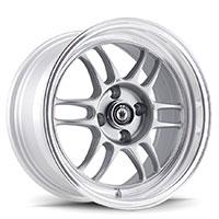 KONIG Wideopen Wheel Rim 15x8 4x100 ET20 73.1 Silver Machine Lip