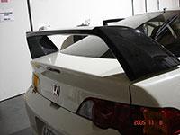 Megan Racing Carbon Fiber Spoiler Acura RSX
