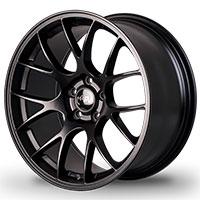 MiRo Type 112 Wheel Rim 18X8.5 5X100 ET35 Matte Black 57.1