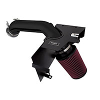 Mishimoto Ford Mustang EcoBoost Performance Air Intake, 2015+ Wrinkle Black