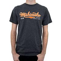 Mishimoto Men's Athletic Script T-Shirt, Gray Small